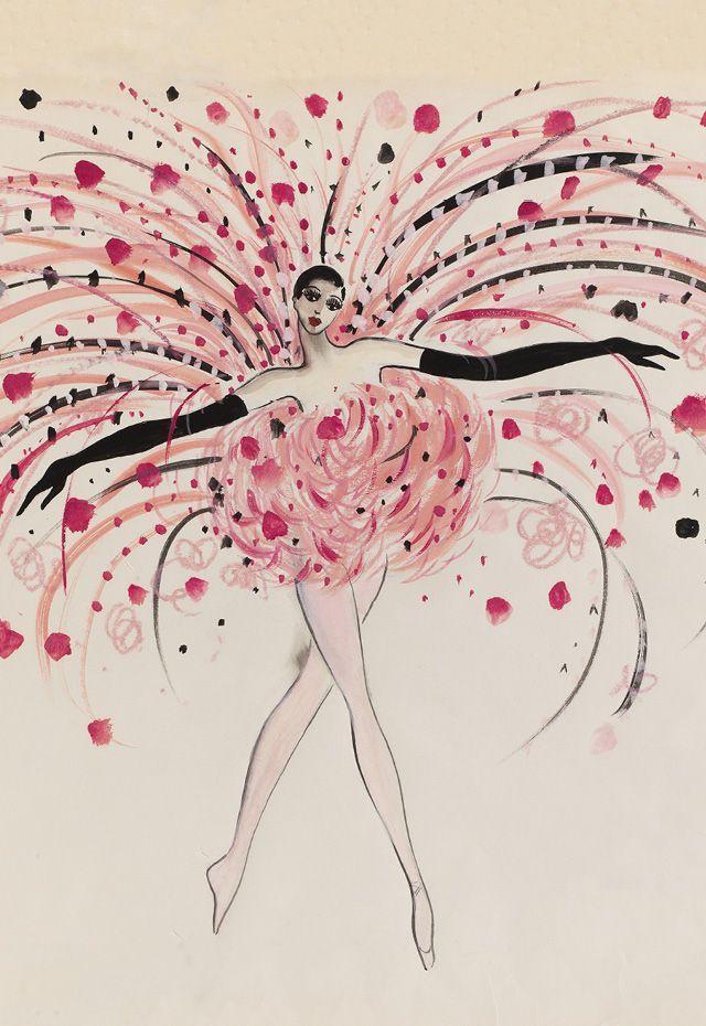 Showgirl- Archives Pierre Bergé Yves Saint Laurent