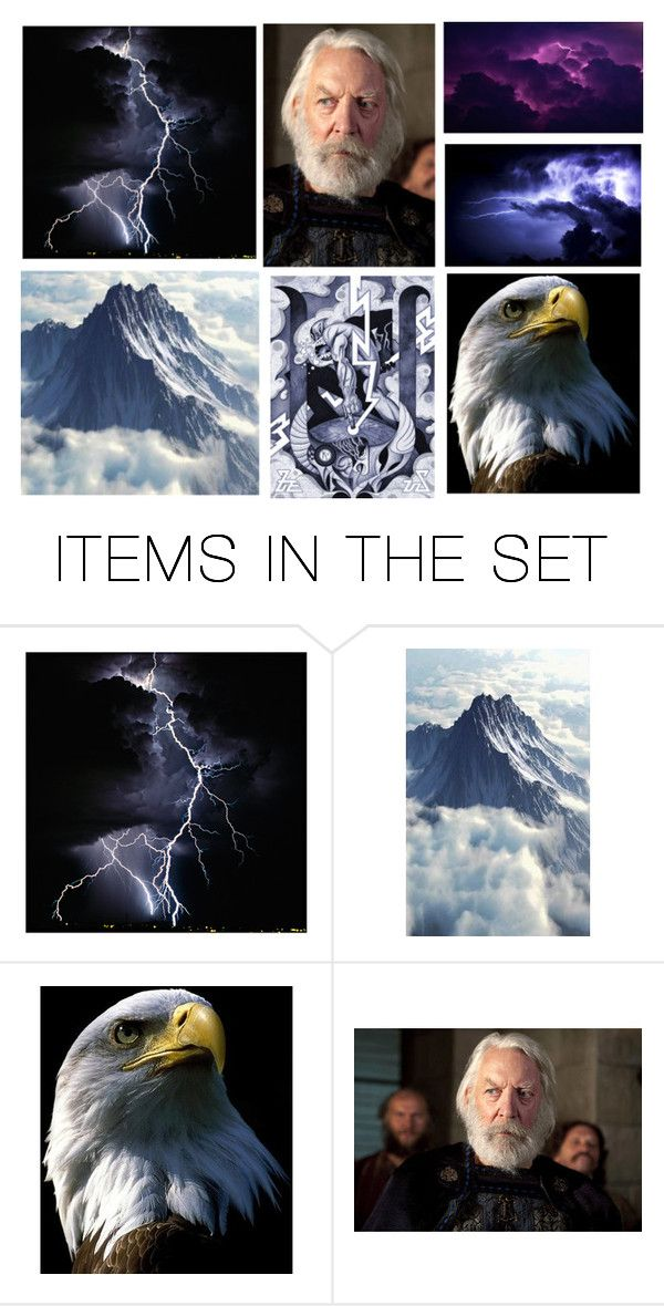 """God Zeus: Greek Mythology"" by lil-candie ❤ liked on Polyvore featuring art"