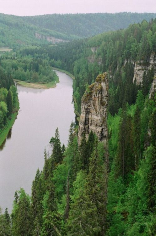 Усьва, Средний Урал | Usva river, Middle Ural