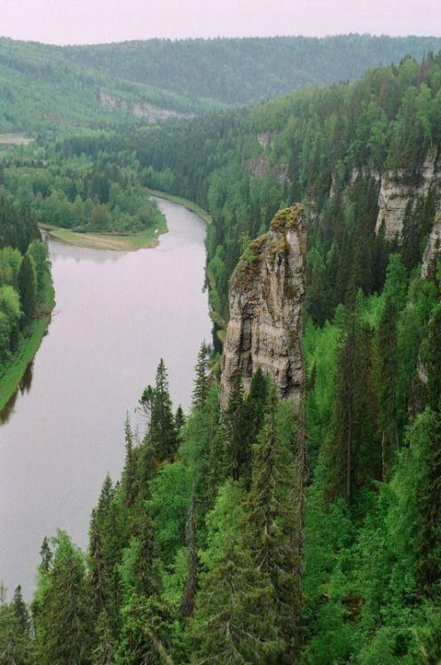 Усьва, Средний Урал | Usva river, Middle Ural