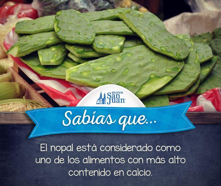 #Sabíasque #nopalitos #México #HuevoSanJuanMX