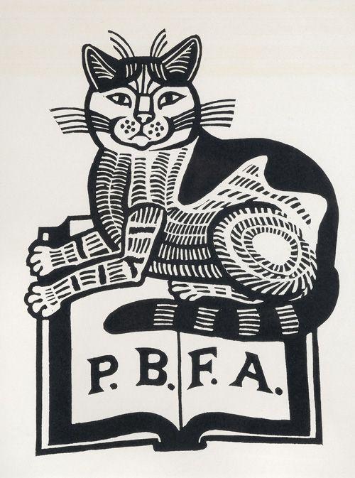 Edward Bawden (1903-1989) P.B.F.A. 1983 Linocut 14.5 x 19.5 cm