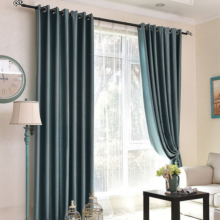 Best 20 modern living room curtains ideas on pinterest - Rideaux style anglais ...