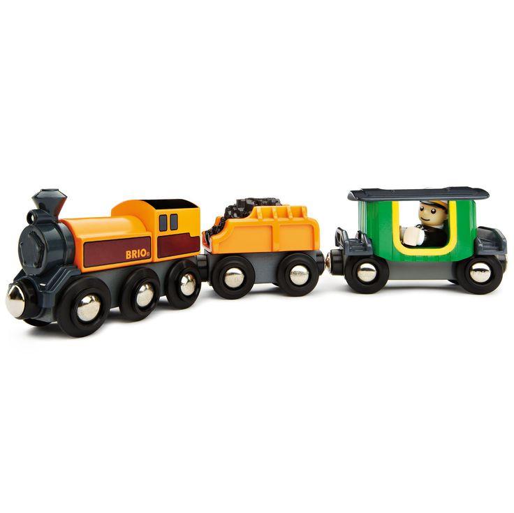 BRIO - Wooden Steam Train