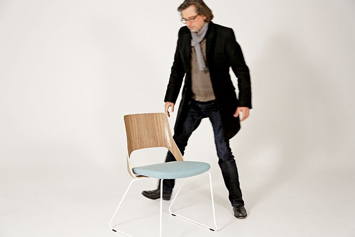 """Stefan Brodbeck is the mastermind behind the fantastic chair Embrace. His German design studio always follows the same motto – """"design based on man""""."""