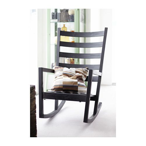 v rmd rocking chair in outdoor black brown stained