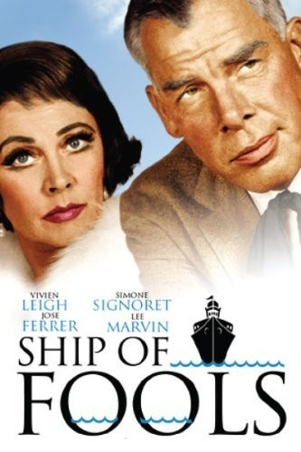 "Synopsis: As he's observing other voyagers aboard a German passenger freighter bound for Bremerhaven in 1933, a puckish dwarf named Glocken (Michael Dunn) warns that it is ""a ship of fools,"" whose passengers are all deeply involved with one folly or another. As Virginia divorcee Mary Treadwell (Vivien Leigh) vainly flees middle age, the drug-dependent Spanish noblewoman, La Condesa (Simone Signoret) and the ship's doctor, Schumann (Oskar Werner) are falling in love. Unmarrie"