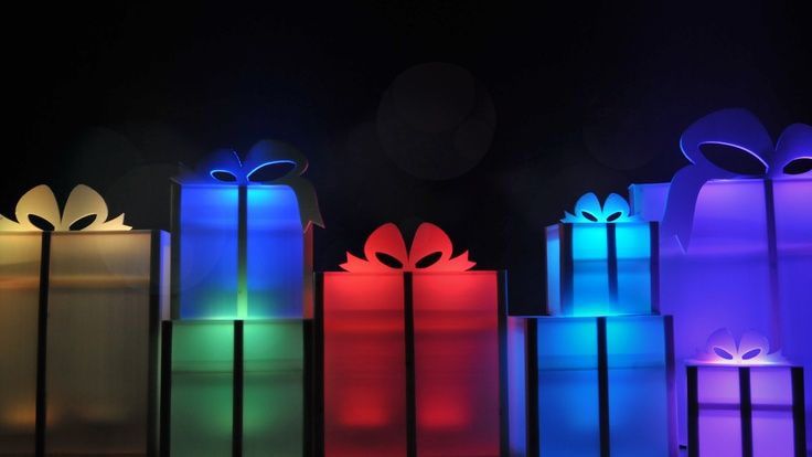 Christmas present stage decoration - Google Search