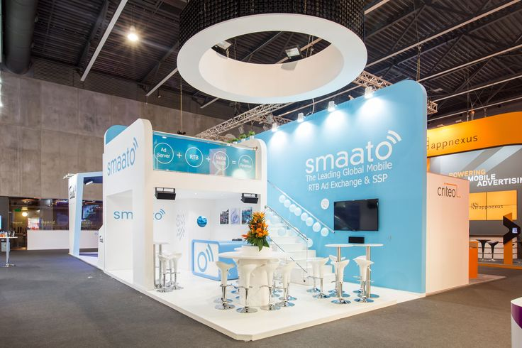 SMAATO MWC BARCELONA 2015 56m2 PRO EXPO Best booth design