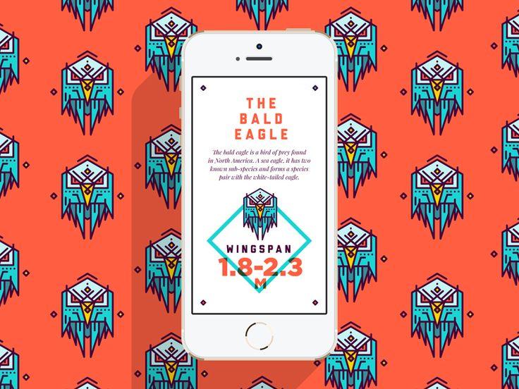 Bald Eagle Mobile by STUDIOJQ
