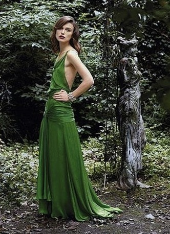 Keira Knightley in Atonement. That dress always caught my eye