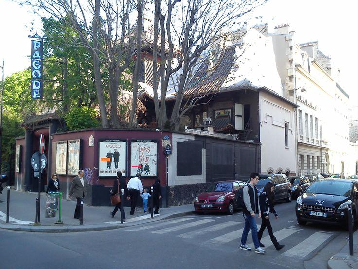 "Cinéma ""La Pagode"" avenue de Babylone 75007 Paris"