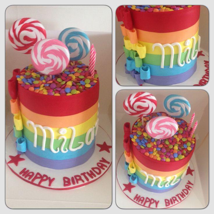 Lolly pop cake!