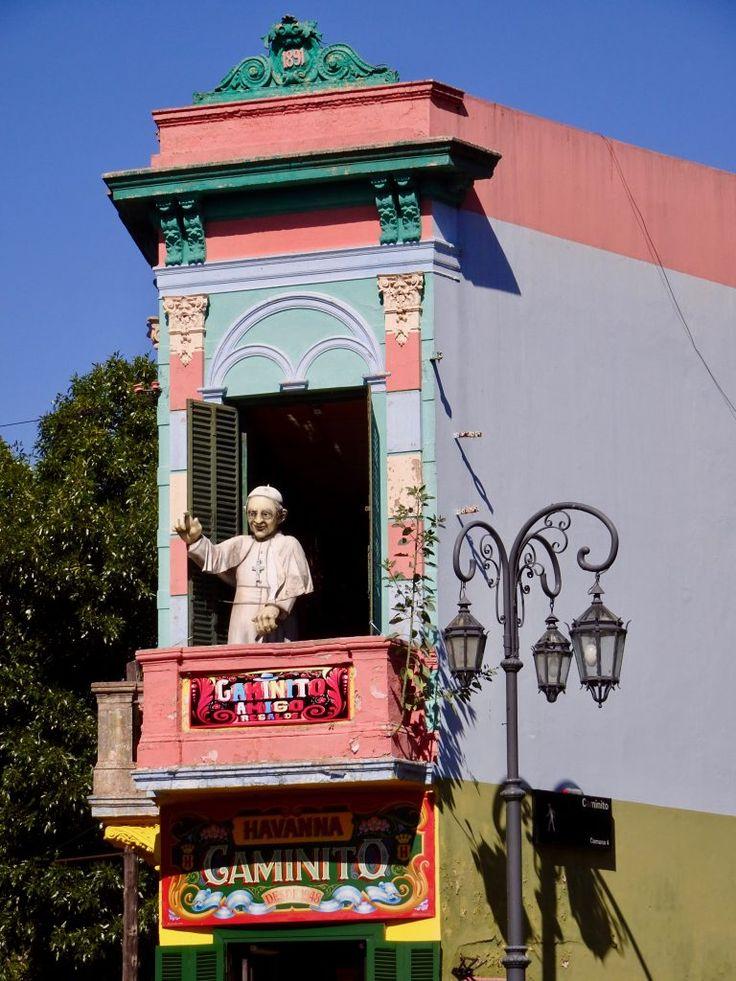 Pope Francis in la Boca, Buenos Aires