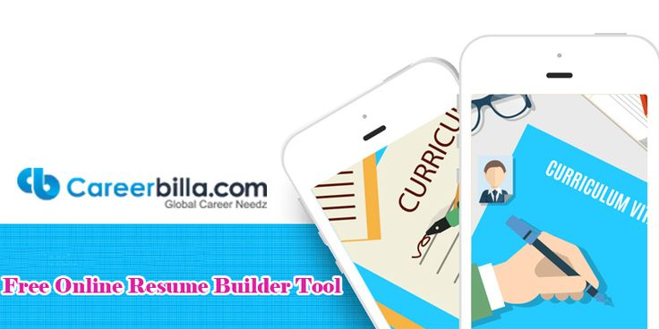 Free Online Resume Builder Tool  Click here to read<> http://www.careerbilla.com/press-releases/details/free-online-resume-builder-tool  #Build_Resume #Create_Resume #Resume_Builder