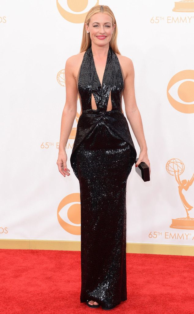 Cat Deeley in Armani from 2013 Emmys: Red Carpet Arrivals | E! Online
