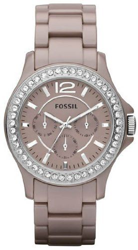 Fossil Riley Ceramic Watch Antique Pearl: got this for Christmas, absolutely ADORABLE  classy in person!  LOVE!