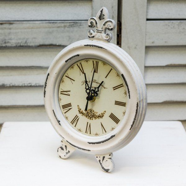 Vintage drevené hodiny  okrúhle