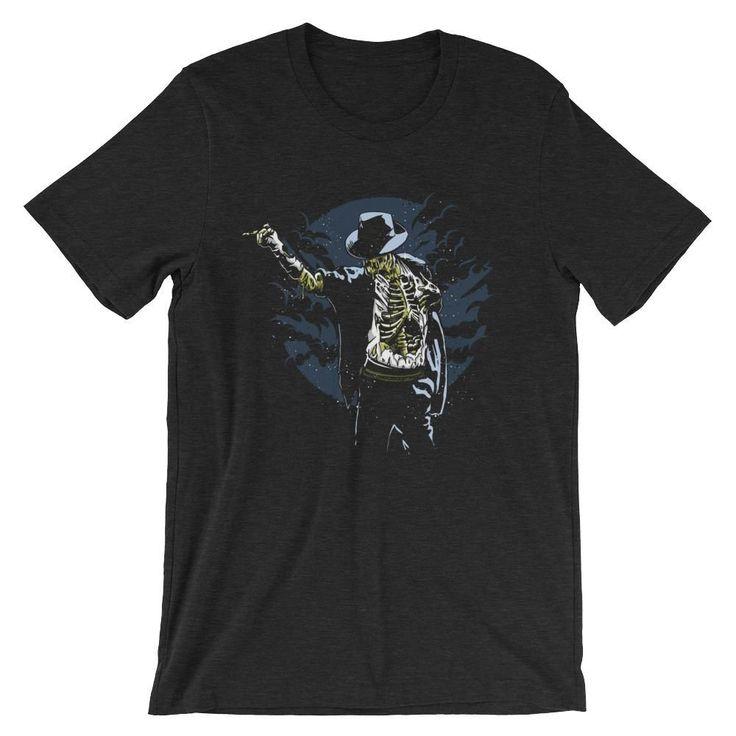 Zombie Michael Jackson Short-Sleeve Unisex T-Shirt #MichaelJackson