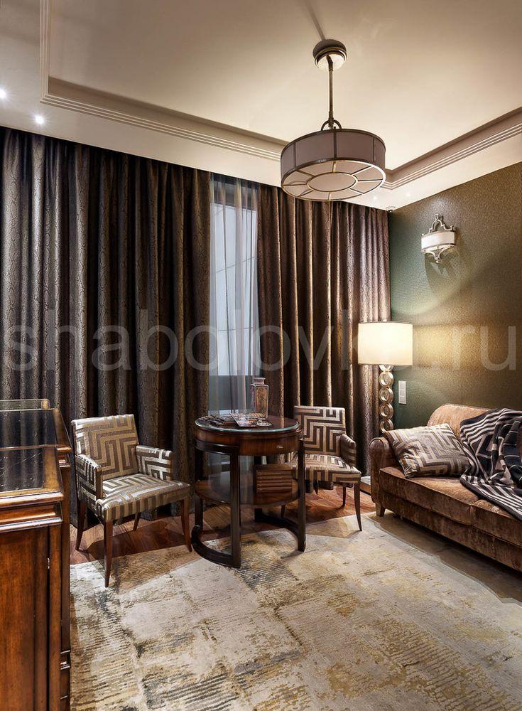 Квартира в стиле ар-деко - гостиная
