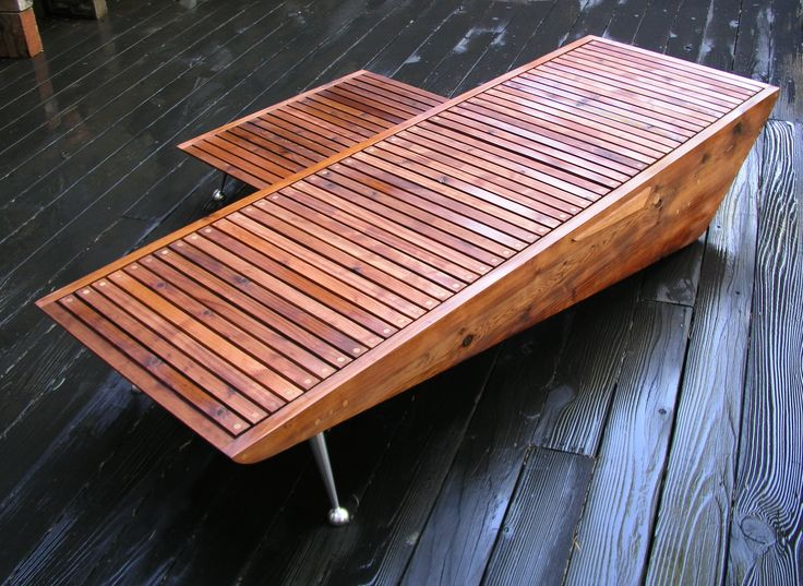 Find This Pin And More On Mid Century Modern Chaise Lounge Chair, Wood Pool  Furniture, Retro Patio Furniture. By Paulc1957.