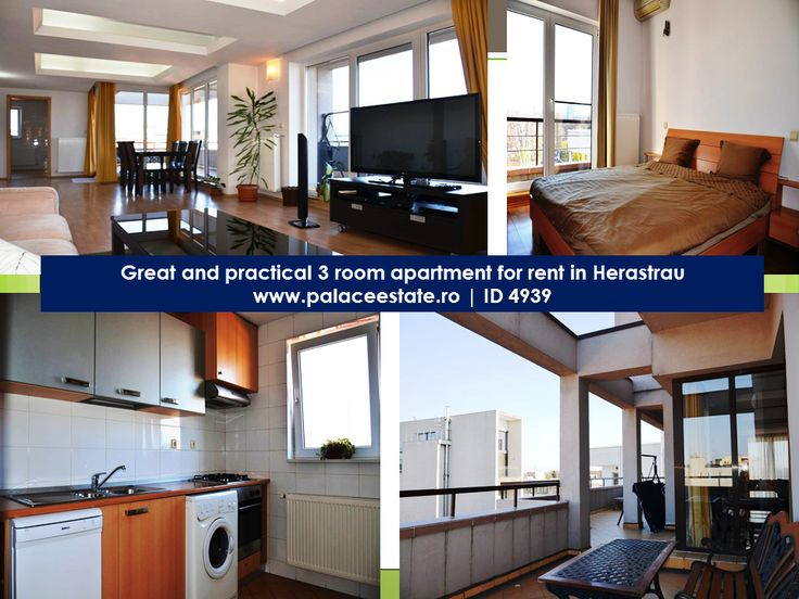 For ‪#‎rent‬ a ‪#‎luxurious‬ piece of ‪#‎property‬ in the ‪#‎HerastrauPark‬ area, just 50 meters from the park's entrance. The ‪#‎apartment‬ has a useful surface 100 square meters, its is luxury ‪#‎furnished‬, has all possible amenities, high ceilings, surveillance cameras, video intercom and permanent guards.  www.palaceestate.ro | ID 4939