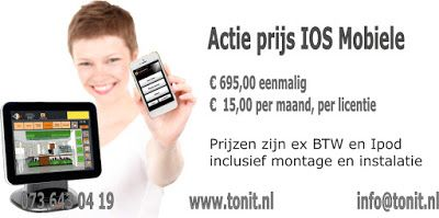 E-Cash actie: Ecash mobiele kassasysteem