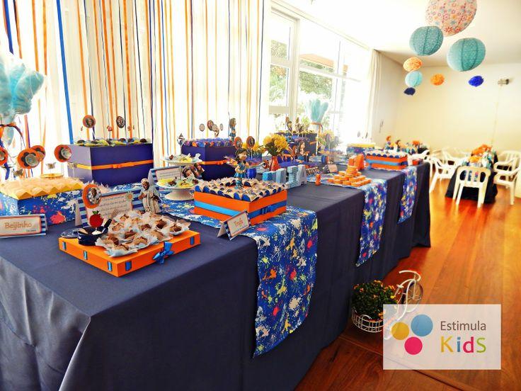 Estimula Kids: Comemorando o aniversário das irmãs - 2 e 7 anos - Tema Chiquititas