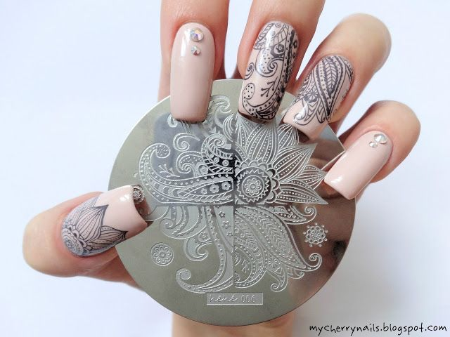 Flower Leaves Nail Art Stamp Template Image Plate Hehe006 Stamping 2 Pinterest Nails A