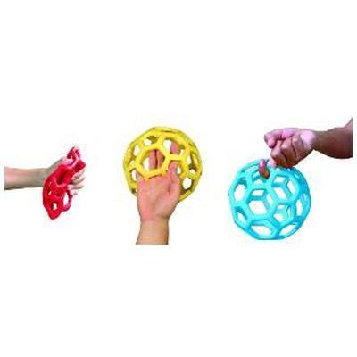 makkelijk te leren gooien en vangen met deze ballen @www.muisjesensitief.nl