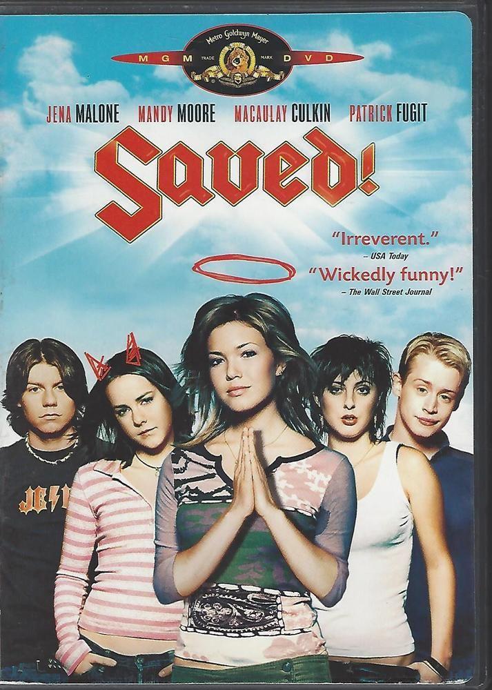 Saved! (DVD, 2009) Jena Malone, Mandy Moore, Macaulay Culkin, Patrick Fugit