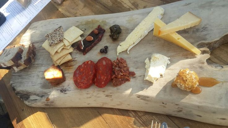 Delicious Cheese Platter at Culture Club Cheese in Bree Street, Cape Town.