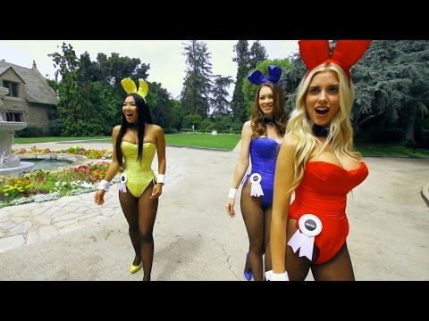 Danny MacAskill at the Playboy Mansion - YouTube ::: This is pretty cool.