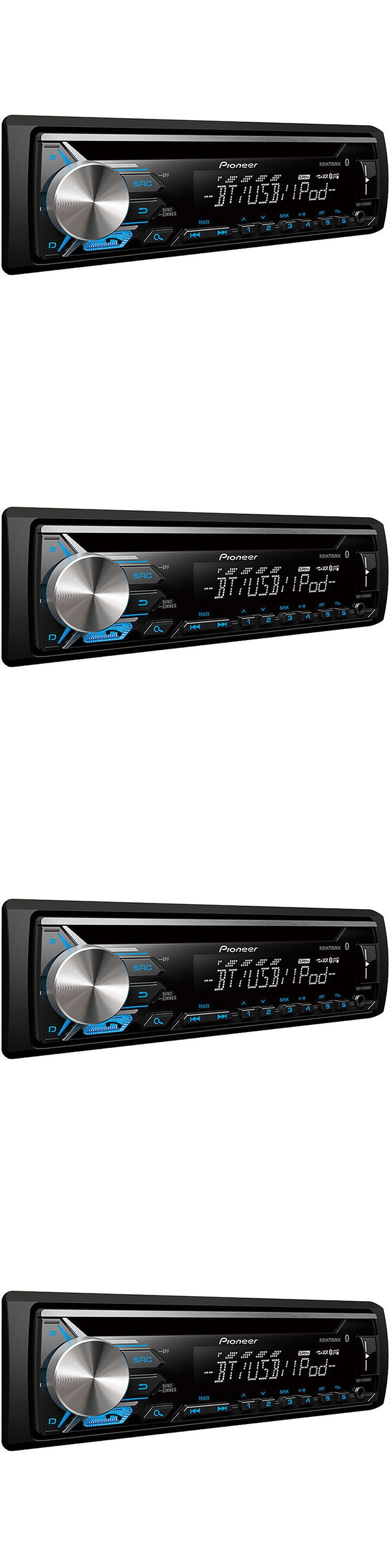 Car audio in dash units pioneer deh x3900bt single din car stereo cd
