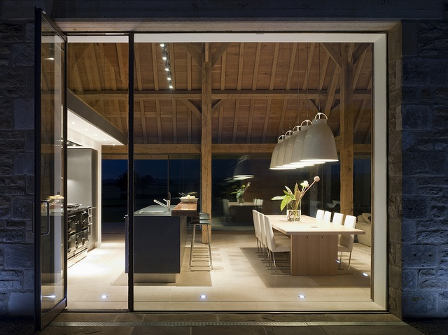 gorgeous lighting - stow-on-the-wold residence McLean   Quinlan