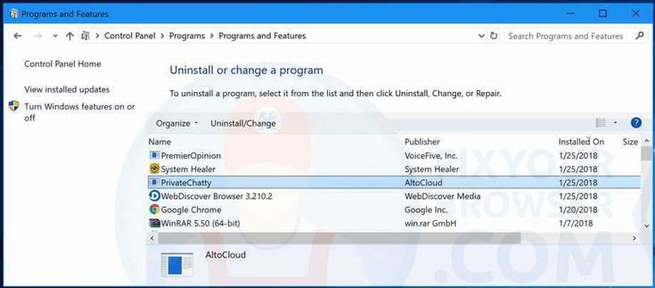 Privatechattyis an adware application by Altocloud, similar to Dragonboost and CloudExtender. Privatechatty modifies web browser settings (displays intrusive worthless advertisements) and collects various information relating to the user's internet browsing activity. For these specific deceptive reasons, Privatechatty is categorized as an adware program.   #adware #altocloud #privatechatty #virus