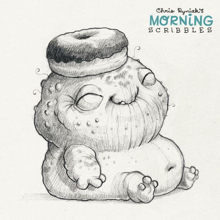Cute monsters by Chris Ryniak