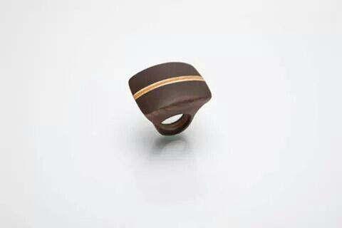 aronn#jewelry#ring#art#wood#aron nagybaczoni#