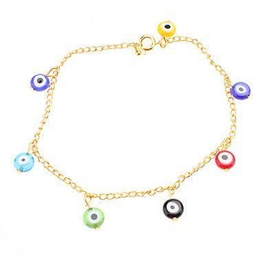 Curious Glaze Eye Bracelace – USD $ 1.99