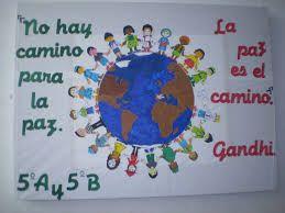 murales dia de la paz - Buscar con Google