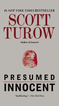 Presumed Innocent, by Scott Turow. Another great read!