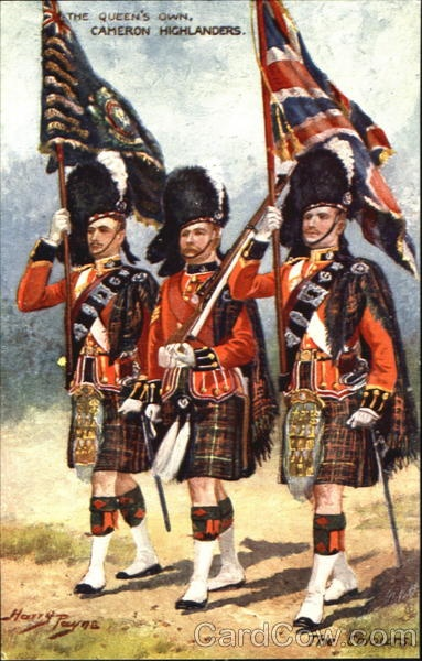 The Queen's Own Cameron Highlanders