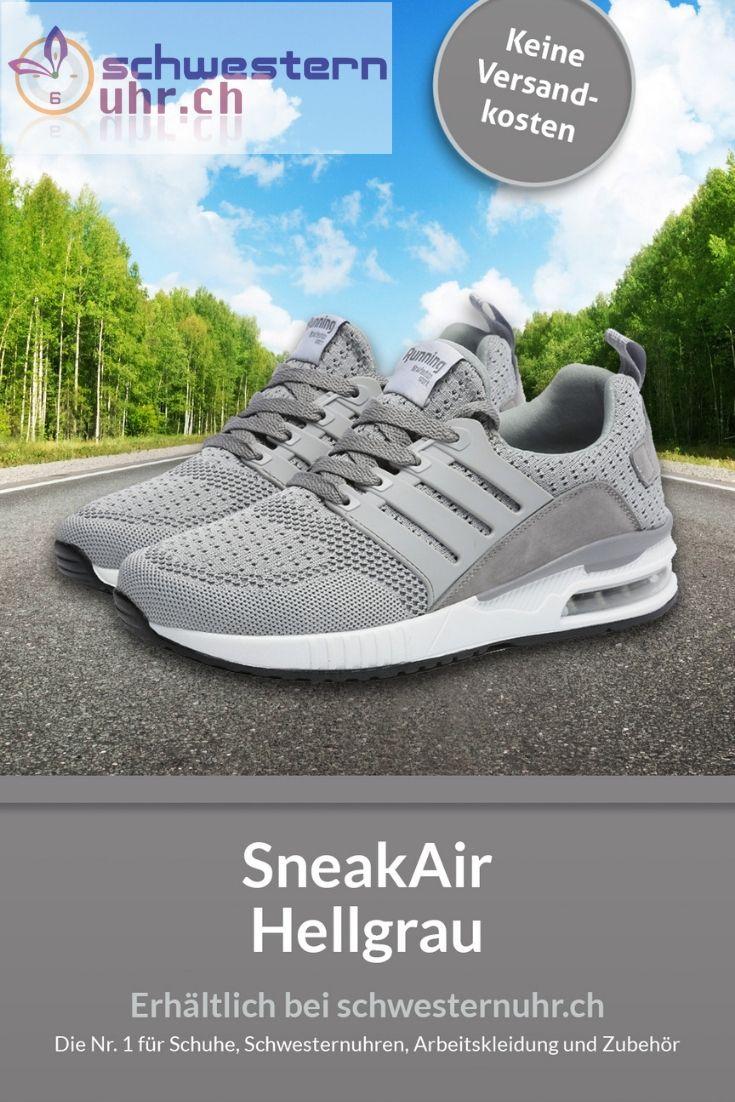 SneakAir Hellgrau in 2020 | Bequeme arbeitsschuhe, Schuhe PsxtD