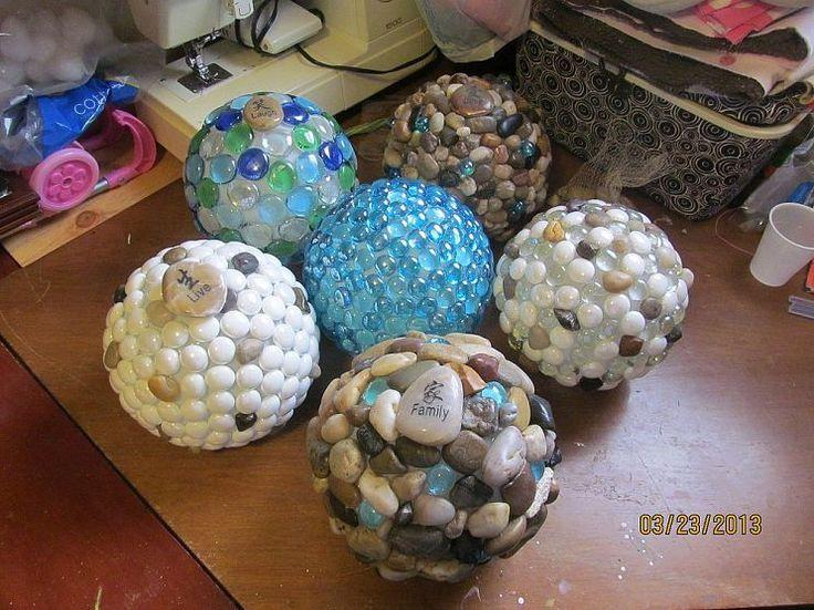 How to make sparkling garden globes!