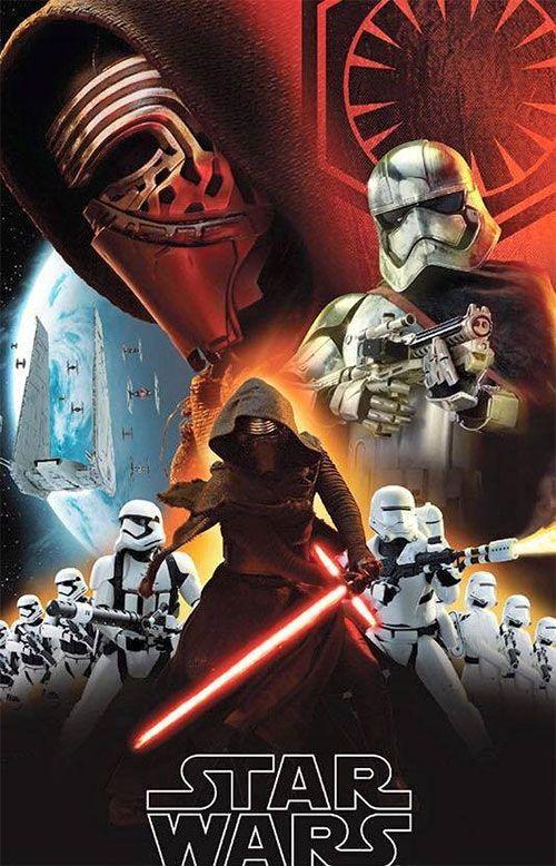 Más Kylo Ren, su sable láser, Tie-Fighers, Stormtroopers y la madre que los parió