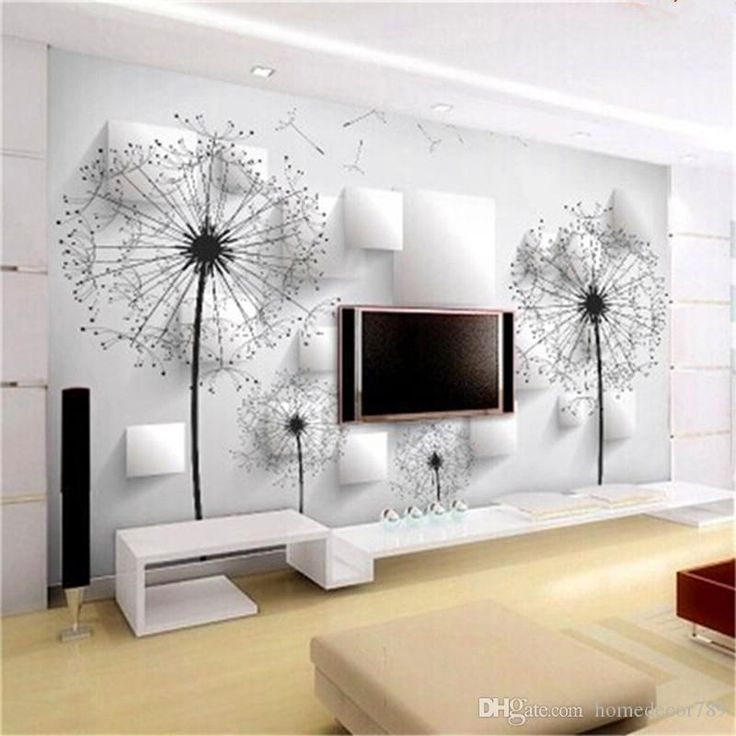 Custom large murals white abstract painting wallpapers 3d stereoscopic wall paper for living room bedroom wall art home decor