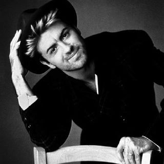 George Michael. Monkey promo pic.