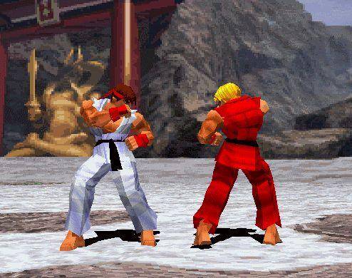 """""""Round One. Fight!"""": leu a frase com a voz do narrador de Street Fighter."""