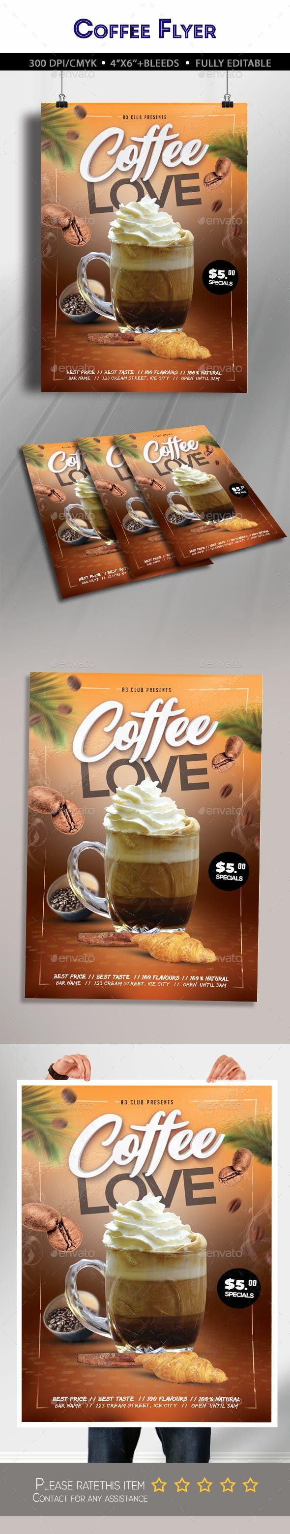 Free Vector | Coffee shop flyer square |New Coffee Shop Flyer