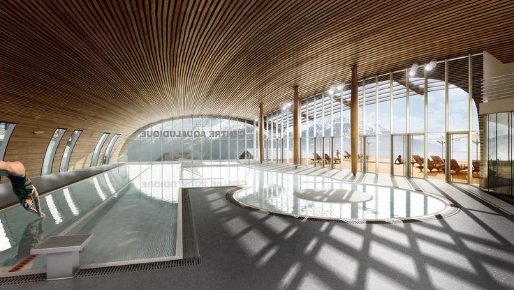 Asylum, Solutions 3d pour l'architecture et l'immobilier At'las Architectes - Centre Aqualudique